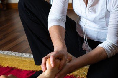Massage-bien-être pieds