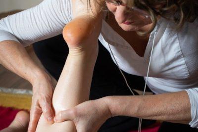 Massage-bien-être jambes