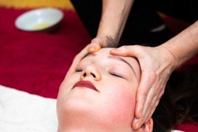 Massage-bien-être visage